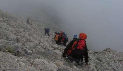 Επιχείρηση διάσωσης ορειβάτη βρίσκεται σε εξέλιξη στον Όλυμπο