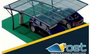 Ηλιακός σταθμός φόρτισης ηλεκτρικών αυτοκινήτων στο Voltaro 5