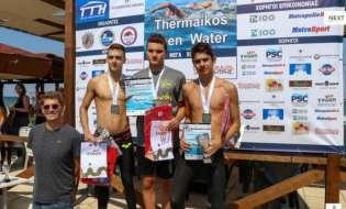Με μεγάλη επιτυχία και λαμπερές παρουσίες ο Κολυμβητικός Αγώνας Ανοιχτής Θάλασσας 'Thermaikos Open Water 2018'